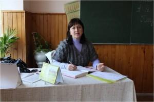 """Рудь Оксана Богданівна Спеціаліст вищої категорії, звання """"Старший вчитель"""", стаж роботи -  21 рік."""