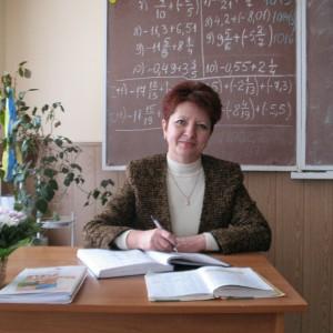 Михайлишин Любов Григорівна вчитель математики Освіта: вища Стаж педагогічної роботи: 31 рік Категорія: спеціаліст вищої категорії,  Педагогічне звання: старший вчитель