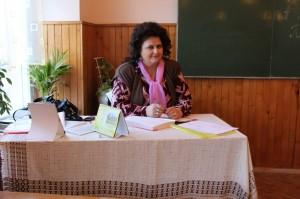 Миць Наталія Василівна - учитель української мови та літератури вищої категорії, звання -  старший учитель. Громадська робота -  секретар ПК.